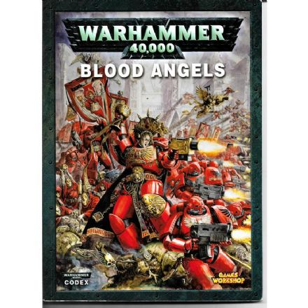 Blood Angel Codex Rulebook 2009
